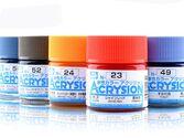Эпохальная серия краски Acrysion от Mr.Hobby